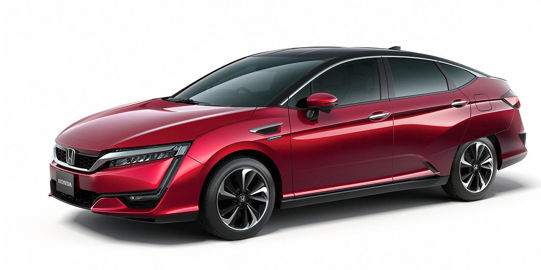 Honda FCV con pila de combustible
