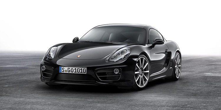 Porsche anuncia la versión Black Edition del Cayman
