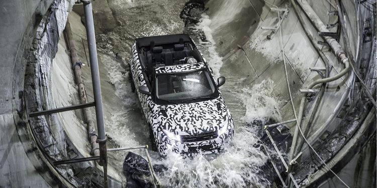 El nuevo Range Rover Evoque Convertible, a un mes de presentarse