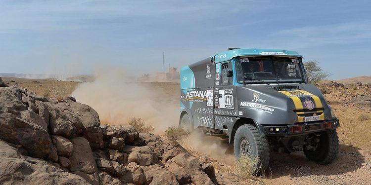 Carlos Sainz ganó etapa 2 en Marruecos