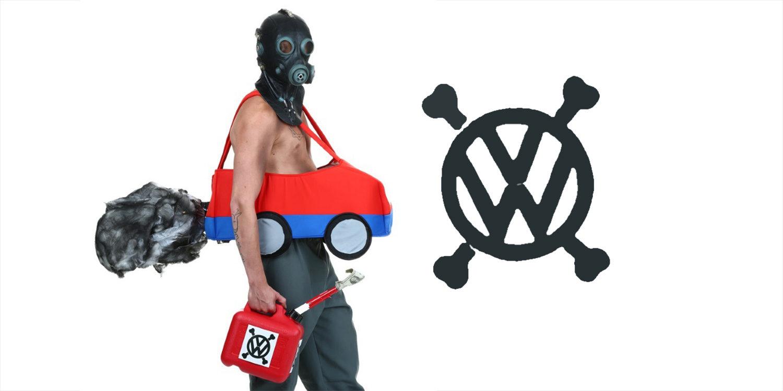 Volkswagen y su Dieselgate ya son disfraz para Halloween