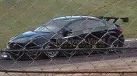 Foto espía del Volvo S60 en Mantorp Park