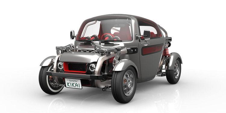 Toyota Kikai. Steampunk retrofuturista para el Tokyo Motor Show