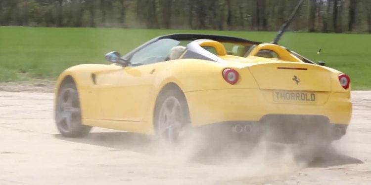 Ferrari 599 SA Aperta. Tiro al plato con el Cavallino