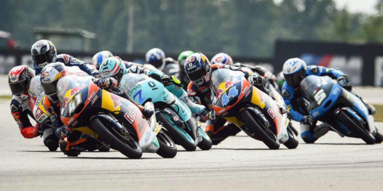 Un inspirado Antonelli se impone en los FP de Japón en Moto3