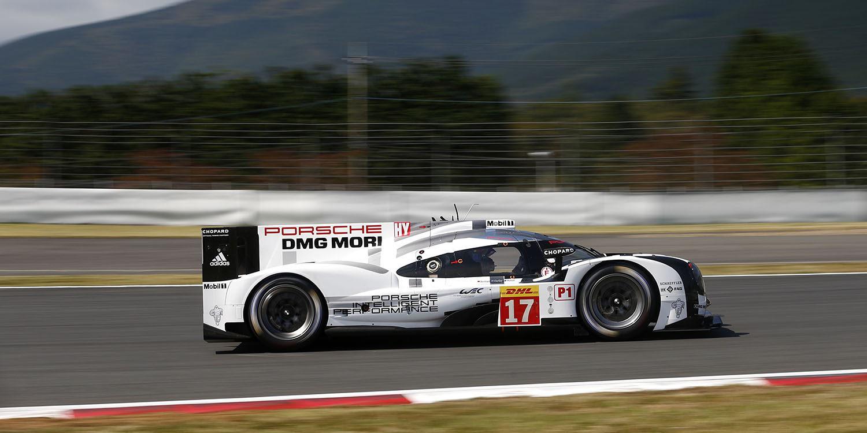 Doblete de Porsche en el FP3 del WEC en Fuji