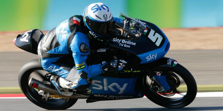Romano Fenati consigue su primera pole position