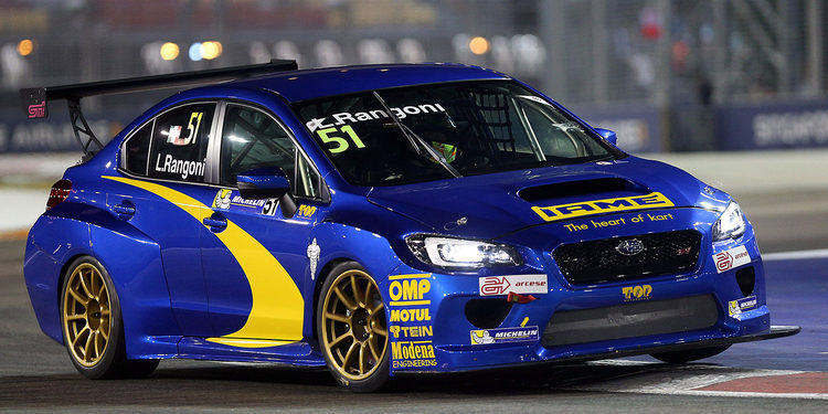 Alain Menu competirá con un Subaru en las TCR Series