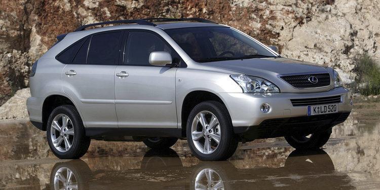 10 años de Lexus Hybrid: 2005 - Lexus RX400h