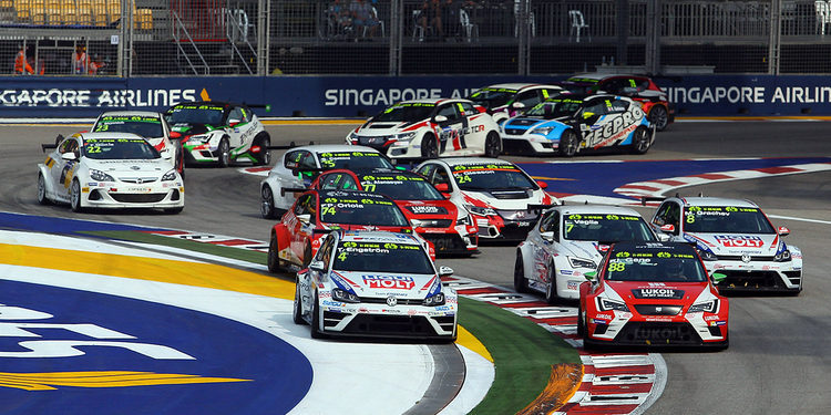 31 coches inscritos para la carrera de las TCR de Macao