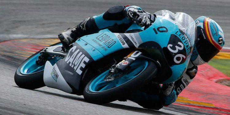 Joan Mir debutará en el Mundial de Moto3 con el Leopard Racing