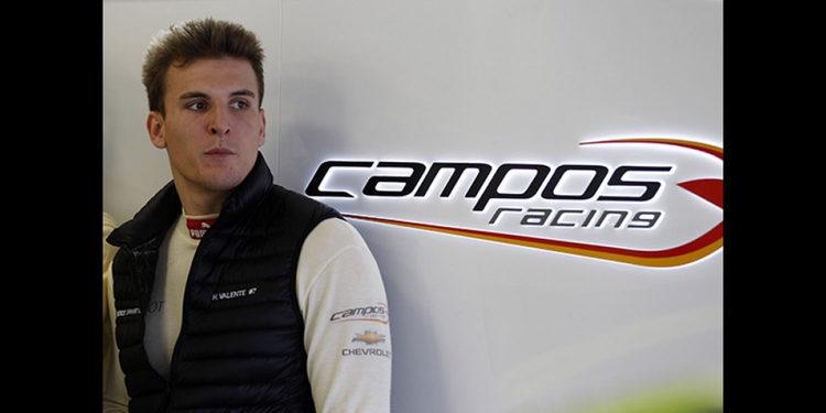 Hugo Valente con Campos Racing en las TCR en Tailandia