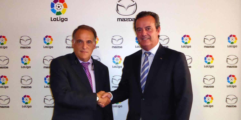LaLiga y Mazda unidas por el Fútbol