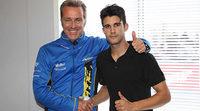 Isaac Viñales firma con el Tech 3 de Moto2