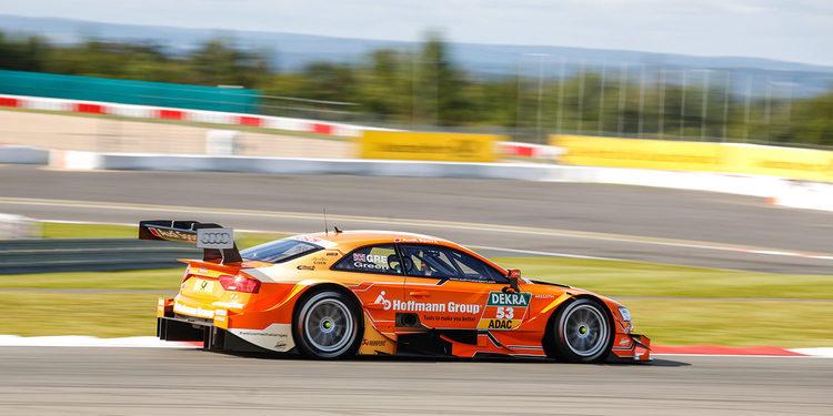 Jamie Green manda en el FP1 del DTM en Hockenheim