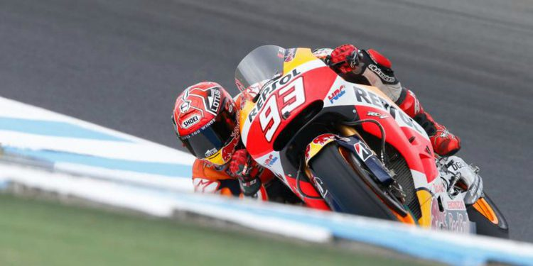 Marc Márquez consigue la pole position en Phillip Island