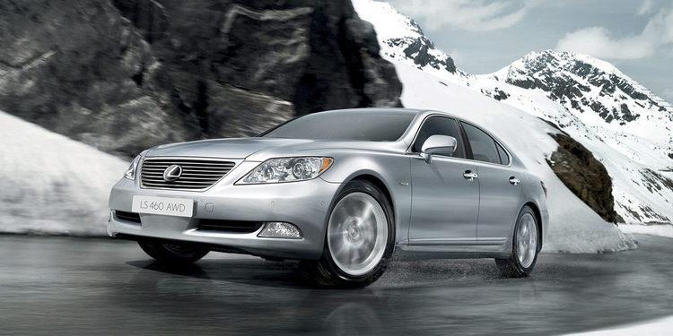 10 años de Lexus Hybrid: 2007 - Lexus LS 600h L