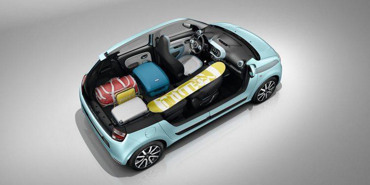El llamativo interior del nuevo Renault Twingo