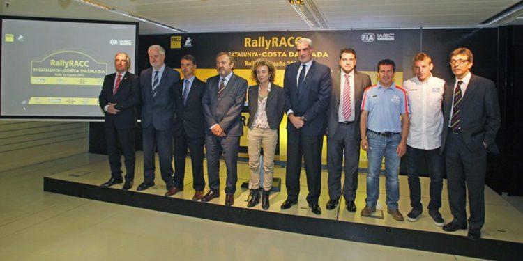 La presentación del Rally RACC 2015