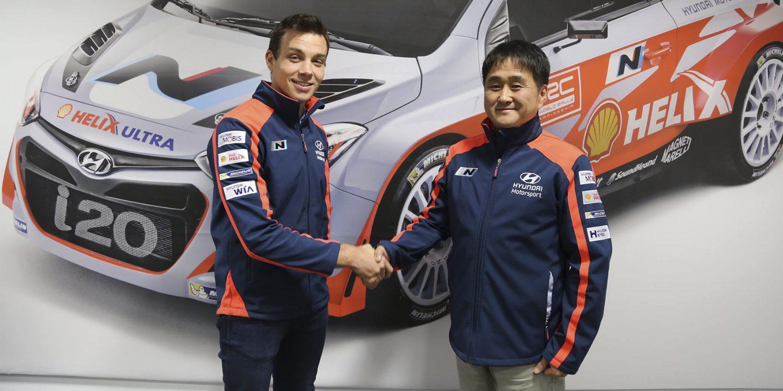 Hayden Paddon extiende su contrato con Hyundai