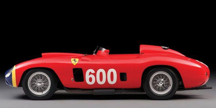 RM Sotheby´s subasta un Ferrari 290 MM de Juan Manuel Fangio