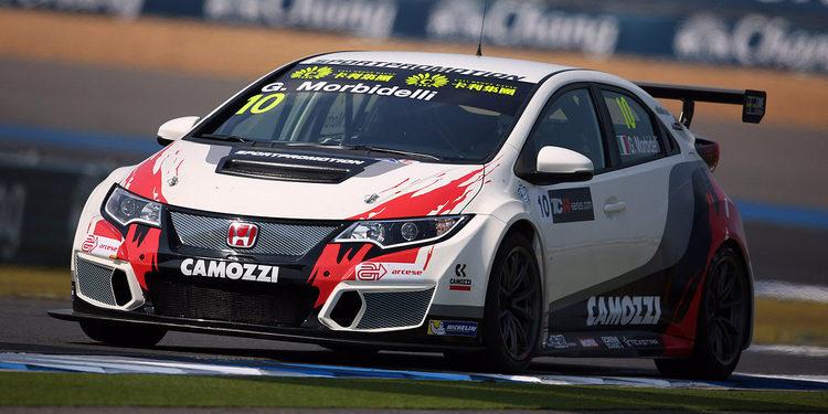 Gianni Morbidelli consigue la pole en Buriram