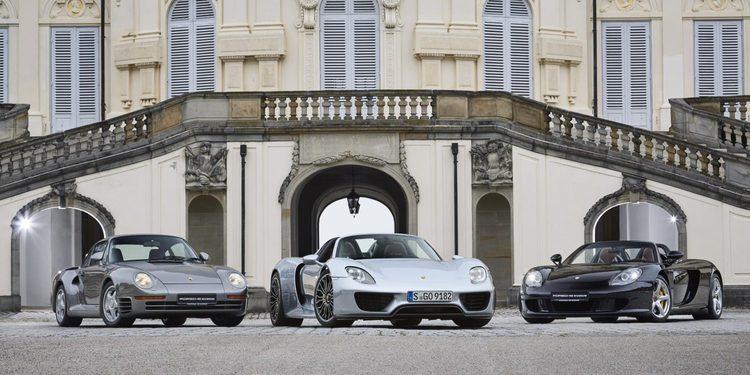 Haciendo el tonto con un Porsche 918 Spyder
