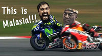 Los meme más divertidos del duelo Rossi vs. Márquez