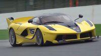 Ferrari FXX K y McLaren P1 GTR en Spa Francorchamps