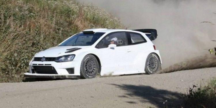 Gronholm, de test con el nuevo Polo WRC