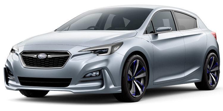 Subaru muestra en Tokyo el próximo Impreza