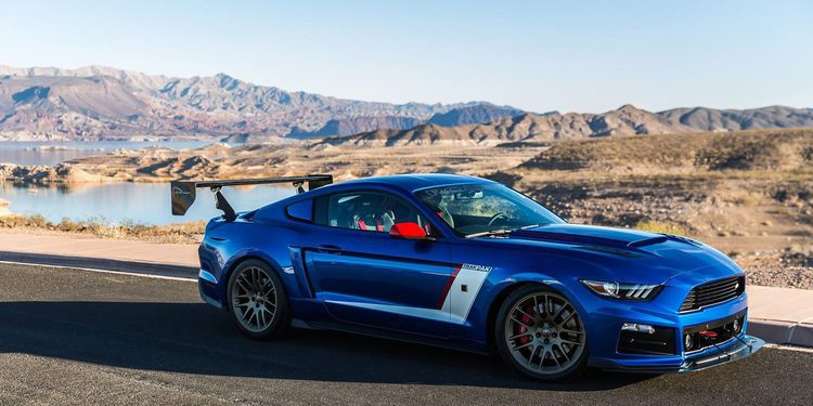 Ford Mustang V8 turbo de 850 caballos by Roush