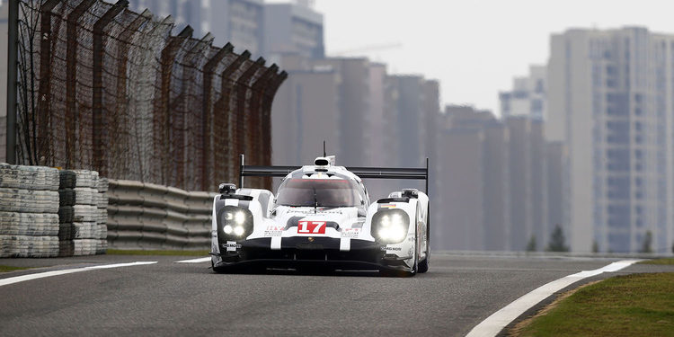 Porsche toma el relevo en el FP2 de Shanghai