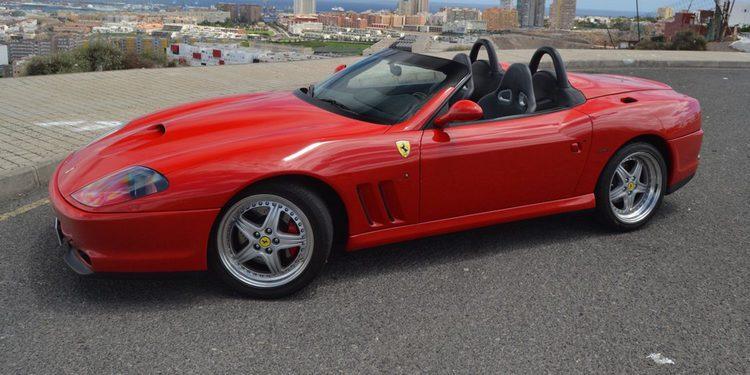Características técnicas del Ferrari 550 Barchetta Pininfarina