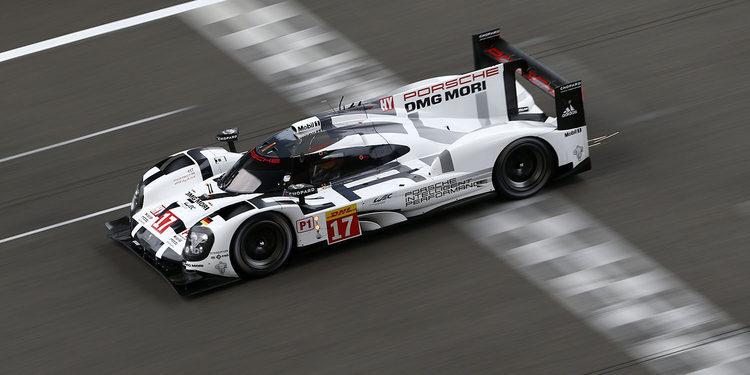 Porsche lidera también el FP3 en Shanghai
