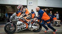 Primeras imágenes y vídeo de la KTM RC16 de MotoGP