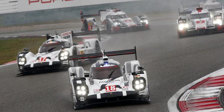 Porsche gana en China y es campeón de marcas WEC 2015