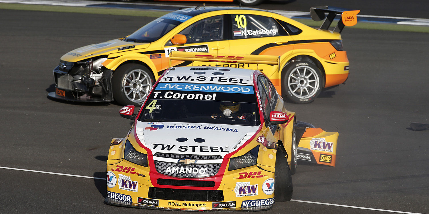 Tom Coronel recibe una reprimenda por el incidente con Lapierre