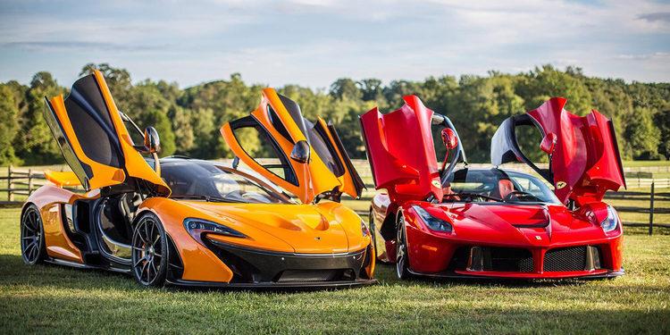 Drag race Ferrari LaFerrari, Porsche 918 y McLaren P1