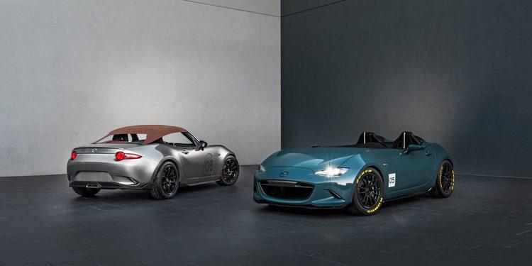 Mazda presenta dos MX-5 conceptuales en el SEMA