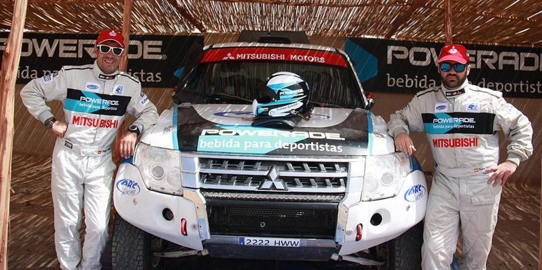 BFGoodrich, con Rubén Gracia en su primer Dakar