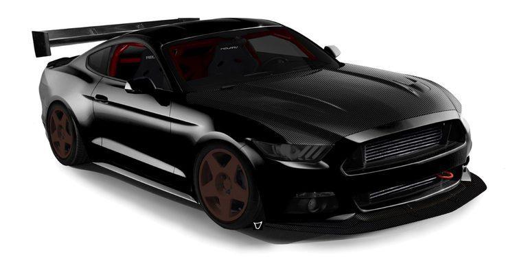 Radical Ford Mustang de 900 CV de Bisimoto