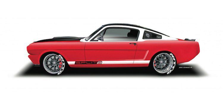 RingBrothers presenta su Ford Mustang Fastback 1965 SPLITR en el SEMA 2015