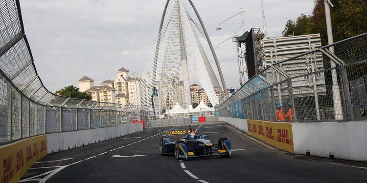 Tour por el pitlane de la Fórmula E