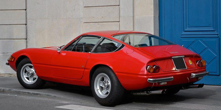 Robado el Ferrari Daytona ex Roger Waters de Pink Floyd