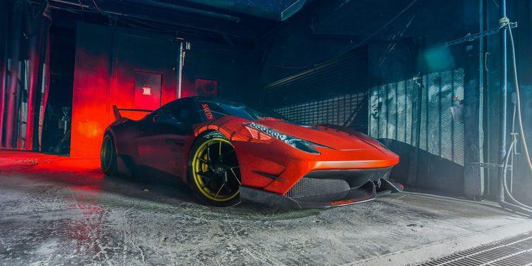 Misha Designs revitaliza de manera espectacular el Ferrari 458 Italia
