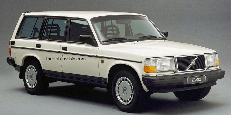 Modelos SUV imposibles sobre clásicos Volvo