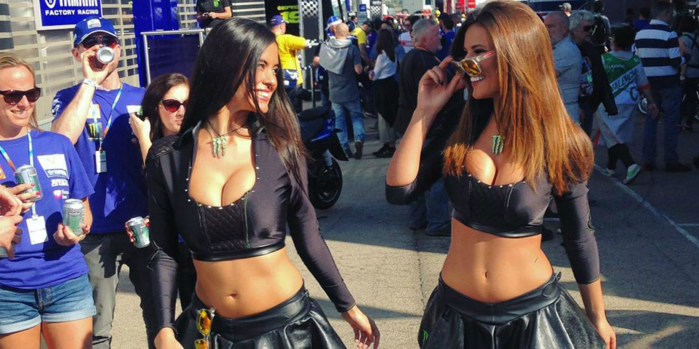 Paddock Girls del GP de Valencia 2015 de MotoGP