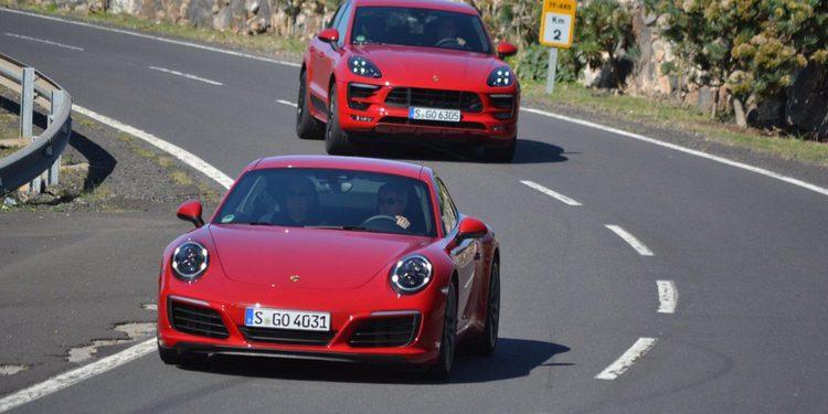Presentación nueva gama Porsche 2016 en Tenerife