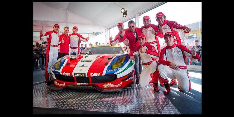 Ferrari presenta el 488 GTE y GT3